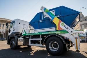 Новый мусоровоз КВБО